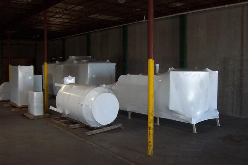 Shrink wrap shipments10
