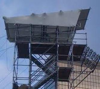 voorlopig dak , regenvrij, waterdicht overkapping