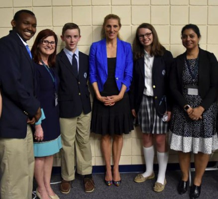 Leaders in Lowell with Dr. Vanessa Kerry