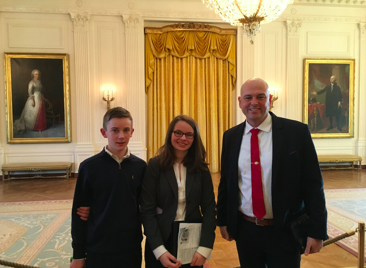 Our meeting in the White House