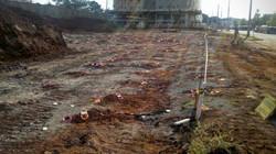 Desmonte para escavação de subsolo