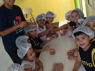 Atividade Culinária - Cupcake de Carnaval