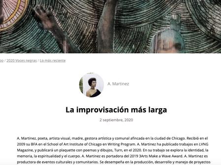 La improvisación más larga en Contratiempo — mi primera traducción
