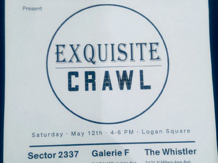 Homeroom & MAKE Exquisite Crawl — May 12, 2018