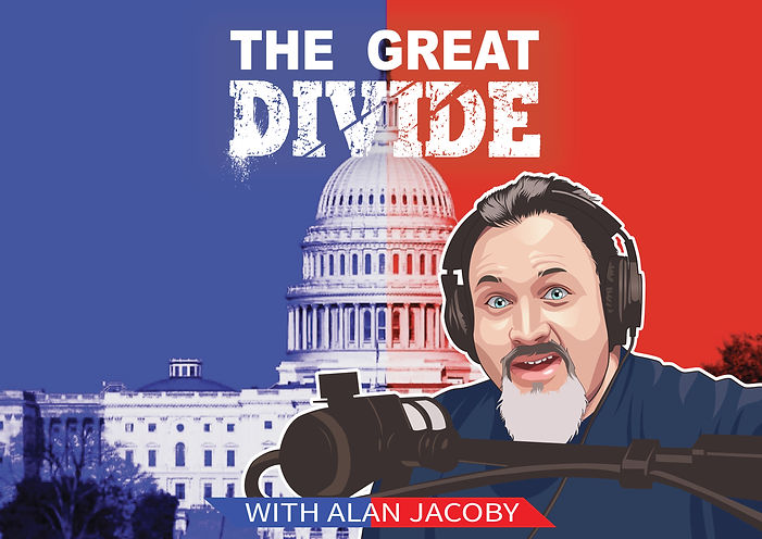 podcast, great divide, politics, alan jacoby