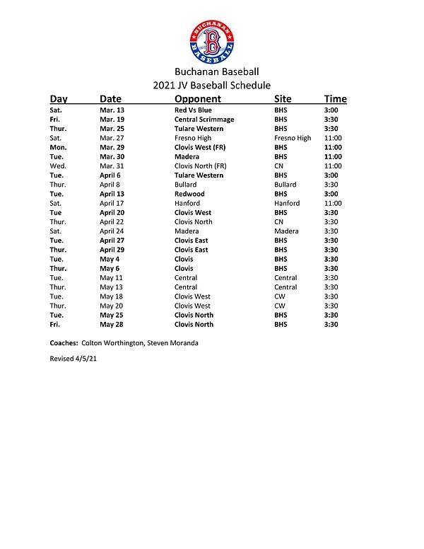 2021 JV Baseball Schedule.png