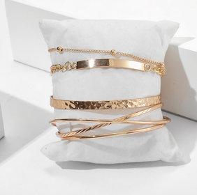 Stacked Bracelet Set of Six