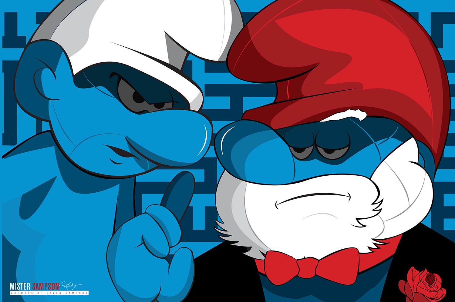 """The SmurfFather"""