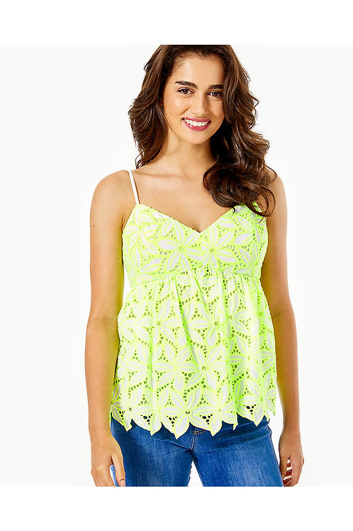 Mellie Eyelet Top - Lilly Pulitzer