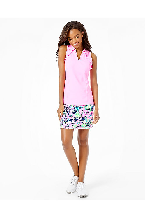UPF 50+ Luxletic Martina Polo Top - Lilly Pulitzer