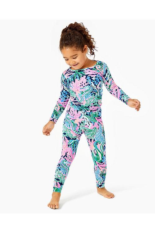 Girls Sammy Snug Fit Pajamas - Lilly Pulitzer