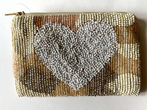 Mini Beaded Camo Bag