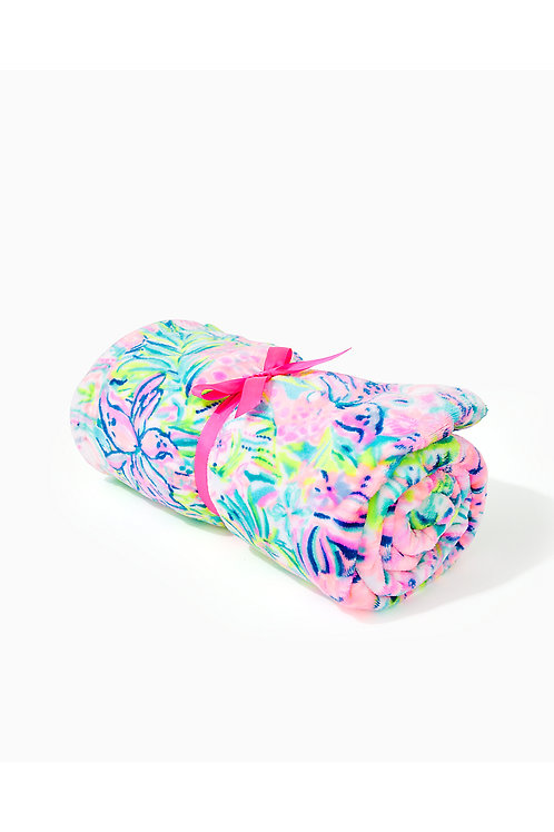 Paradise Fleece Blanket - Lilly Pulitzer