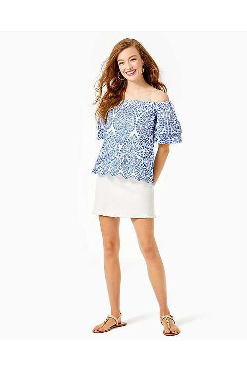 Lesley Off-The-Shoulder Top - Lilly Pulitzer