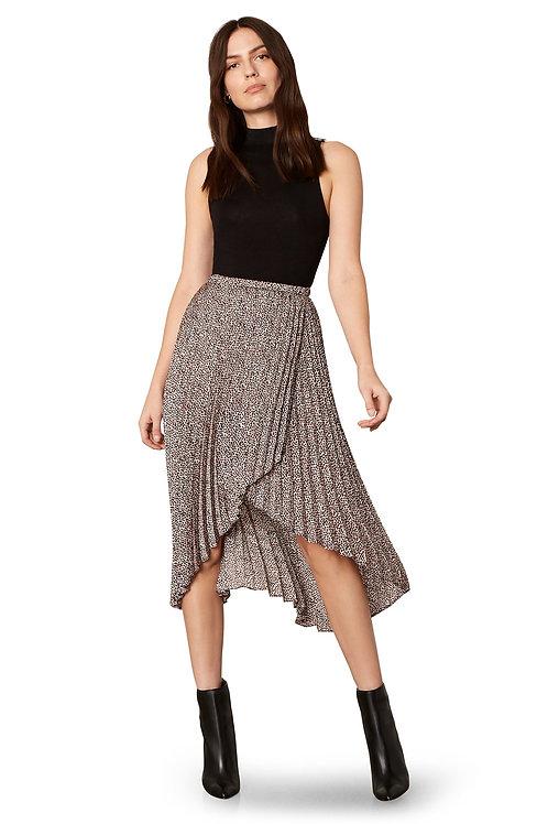 Wild Out Black Pleater Skirt - BB Dakota