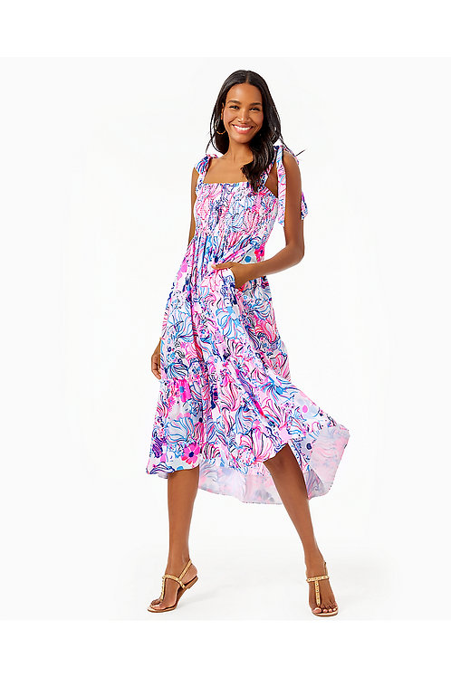 Rivera Midi Dress - Lilly Pulitzer Dress