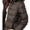 Thumbnail: Kepler Faux Fur Hooded Puffer - Cupcakes and Cashmere