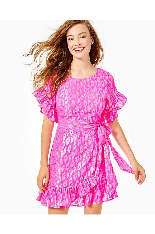 Darlah Silk Wrap Dress - Lilly Pulitzer