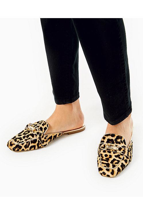 Andi Leopard Print Mule Loafer - Lilly Pulitzer