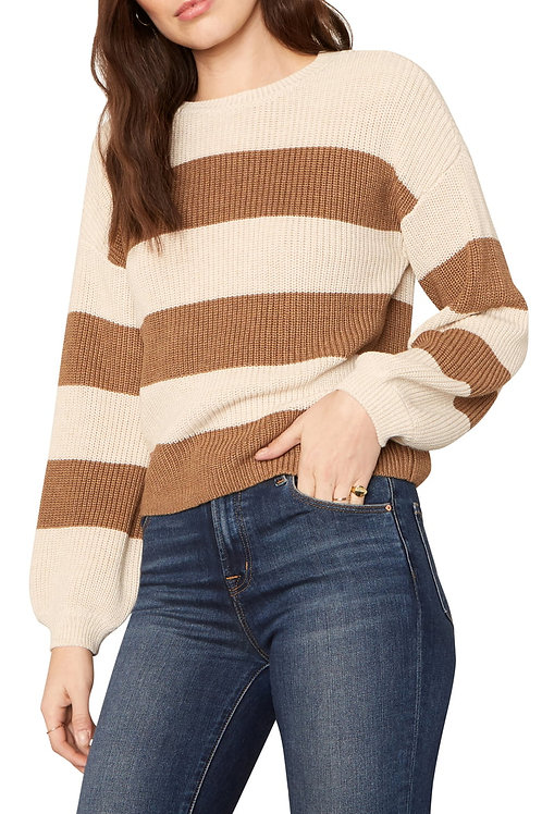 Rimes Stripe Pullover - Cupcakes and Cashmere