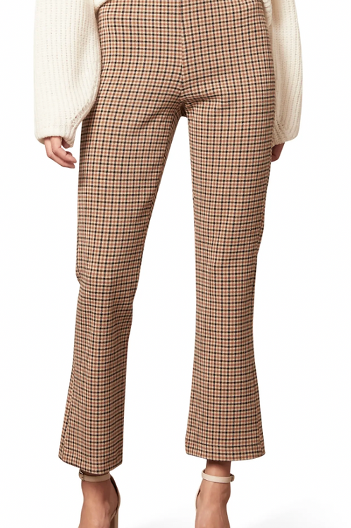 Camille Plaid Ankle Pants - Cupcakes and Cashmere
