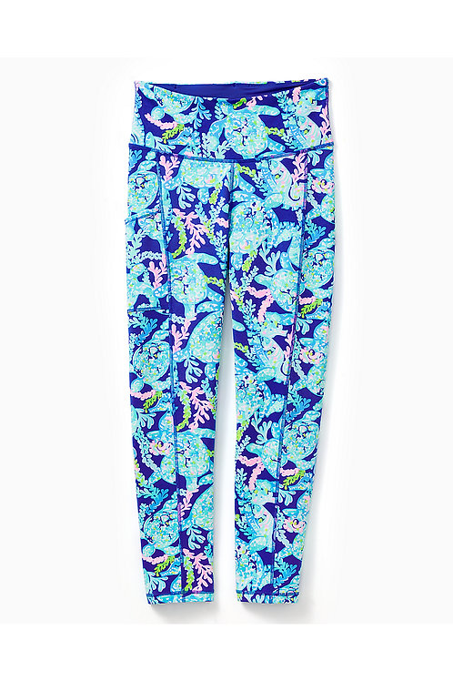 "UPF 50+ Luxletic 24"" High Rise Weekender Midi Legging - Lilly Pulitzer"