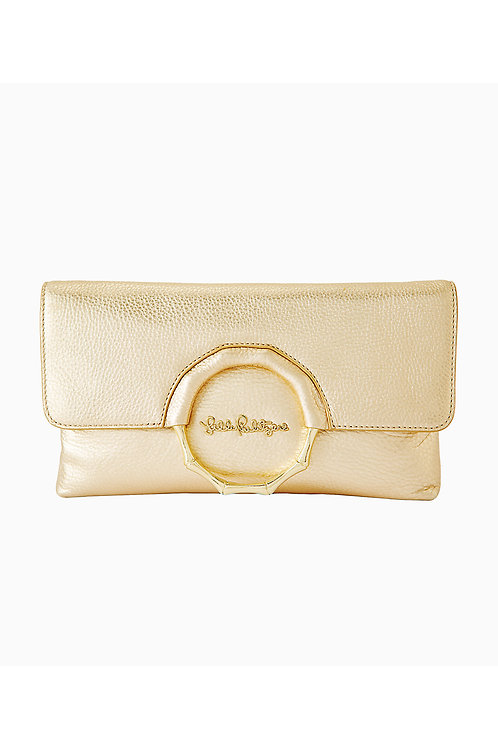 Malindi Leather Clutch - Lilly Pulitzer