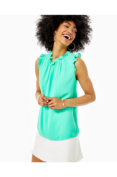 Talisa Ruffle Top - Lilly Pulitzer