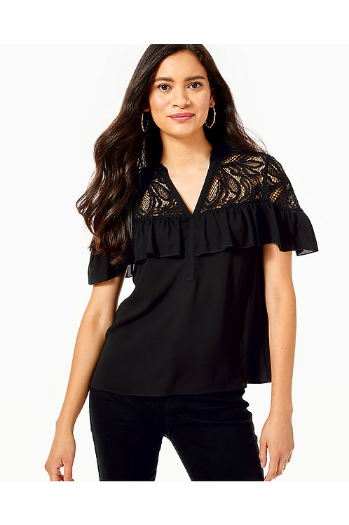 Marabella Lace Top - Lilly Pulitzer