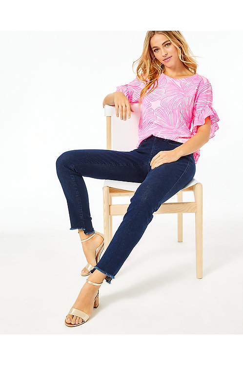 """28"""" South Ocean Skinny Crop Pant - Lilly Pulitzer"""