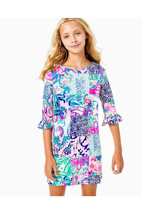 UPF 50+ Girls Mini Sophie Ruffle Dress - Lilly Pulitzer