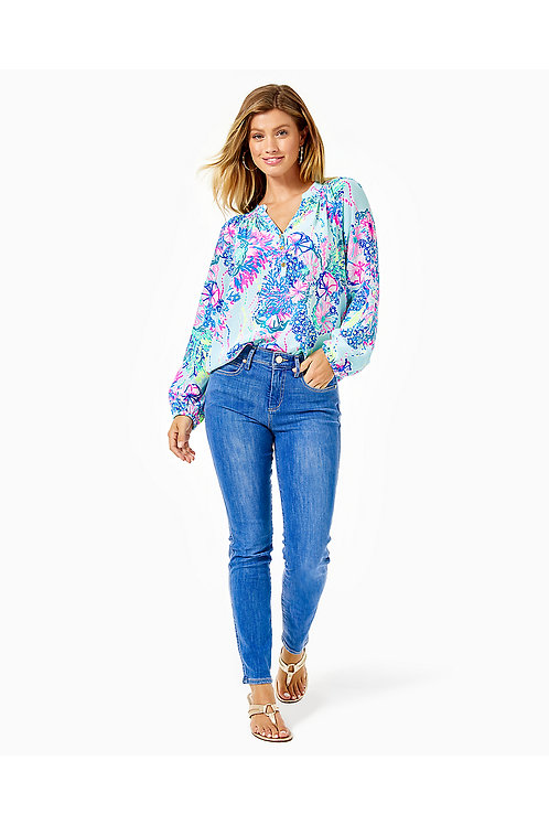 """29"""" South Ocean High Rise Skinny Ankle Pant - Lilly Pulitzer"""