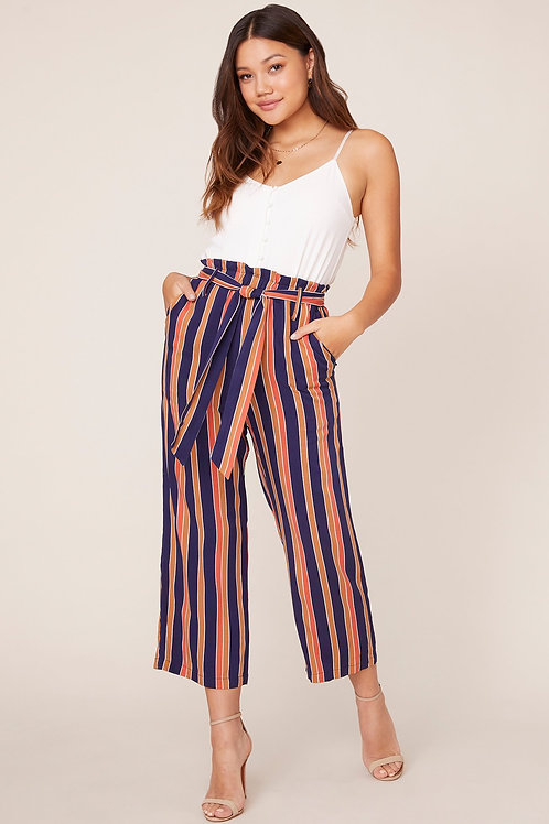 Inside The Lines Cropped Pants