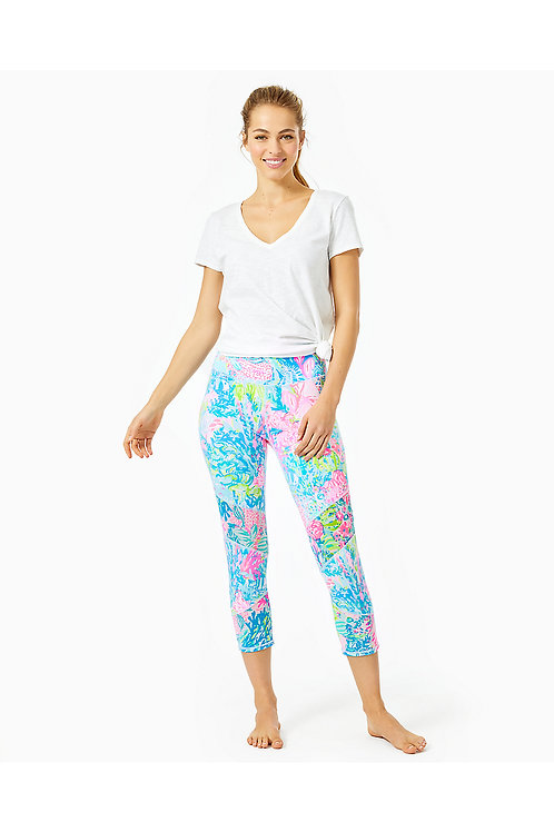 "UPF 50+ Luxletic 21"" Weekender High Rise Crop Pant - Lilly Pulitzer"