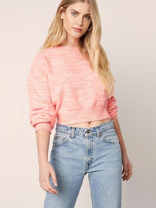 Billie Crop Sweater - Cupcakes & Cashmere
