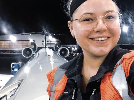 Making a Mark in the Field; Next Gen Aircraft Maintenance Tech Earns Peer / National Recognition