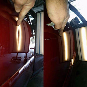 dent repair sunshine coast, dent removal sunshine coast, dint repair, pdr, automotive dent repair, hail.