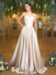 amanda wyatt Renata. Lace and pearl bridal boutique