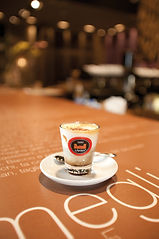 Coffe in a saucer