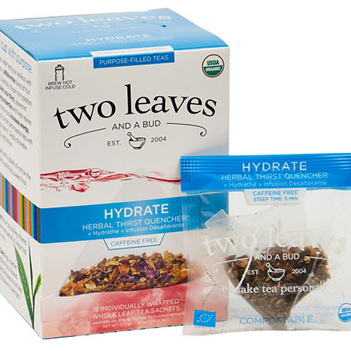 Organic Hydrate Case (6 boxes of 15 tea sachets)