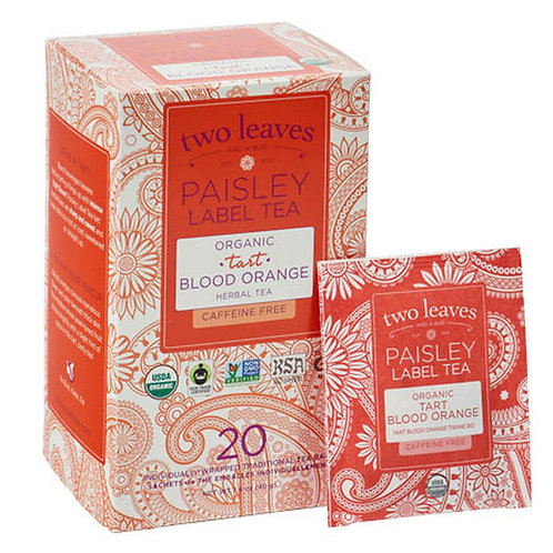 Paisley Label Organic Tart Blood Orange