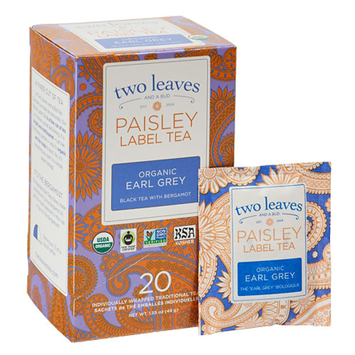 Paisley Label Tea Organic Earl Grey