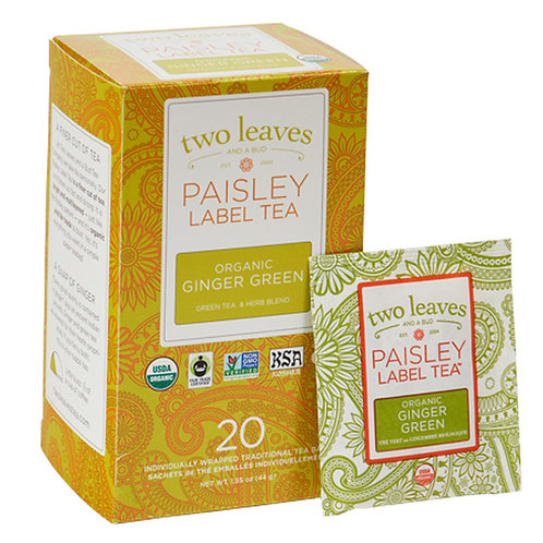 Paisley Label Organic Ginger Green