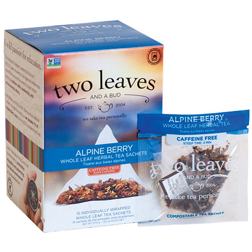 Alpine Berry Case (6 boxes of 15 tea sachets)