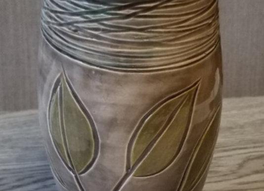 #P-75 Leaf Vase