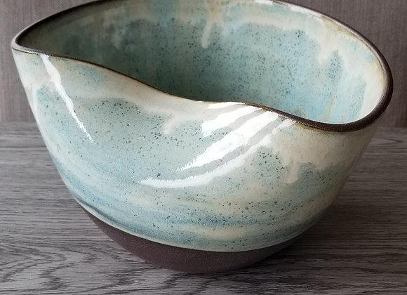#P150 - Light Blue Retro Bowl
