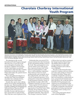 Charolais Charbray Int Youth Program_Pag