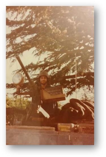 קובי סרוסי בבקעת הלבנון