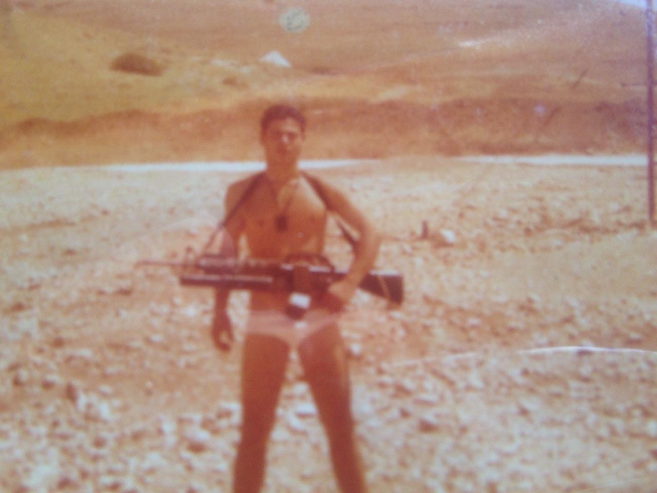 אבי בן אוחיוןבתנוחה קרבית - מסלול
