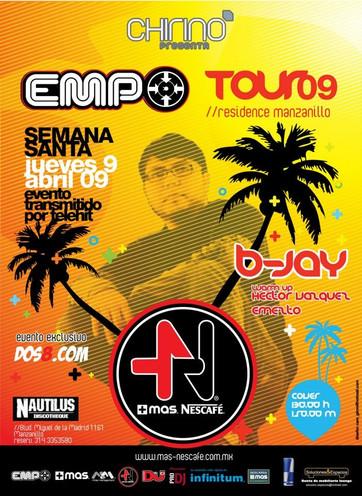 Tour Empo . Manzanillo